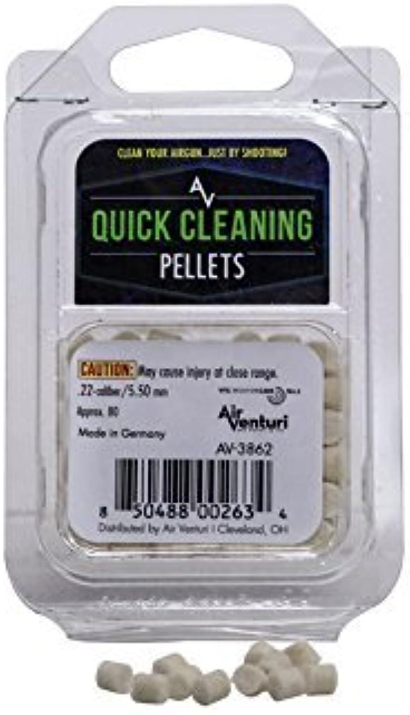 Air Venturi .22 Caliber Quick Cleaning Pellets, 80 Count by Air Venturi
