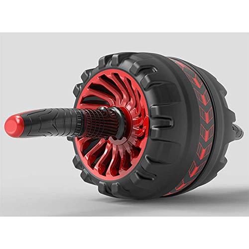 WEHOLY Bauch Roller, Für Bauchmuskeltraining Bauch Rad Übungsgerät Bauch Roller Für Heimstudio, Bauchtrainer Für Bauchtraining,Rot