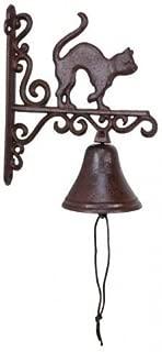 Upper Deck Cast Iron Wall Mount Cat Porch Bell