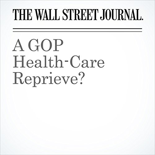 A GOP Health-Care Reprieve? copertina