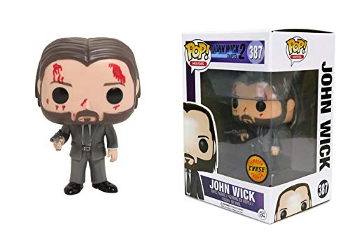 Funko - Figurine John Wick 2 - John Wick Chase Exclu Pop 10cm - 0745559262553