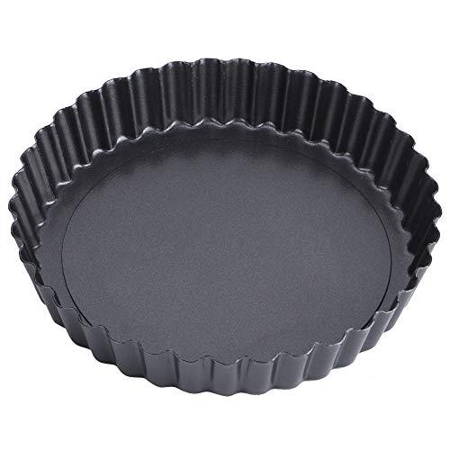 Moule à gâteau au fromage en acier au carbone, moule à gâteau anti-fuite, moule à gâteau à fond amovible antiadhésif pour cuisine à domicile(8 inch TG11#B)