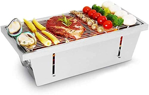 MASP Fire Pit,Outdoor Patio Steel Fire Pit,tableto Barbecue Grill Outdoor BBQ Grill Stainless Steel Portable BBQ Tool Kits for Outdoor Cooking Camping Hiking Picnic Patio Smokers