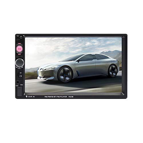 Wakauto reproductor multimedia del coche pantalla hd radio estéreo del automóvil audio reproductor mp5 receptor estéreo del automóvil reproductor de mp3 radio fm receptor de audio del automóvil 7 pulgadas