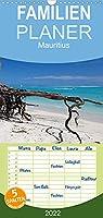 Mauritius - Familienplaner hoch (Wandkalender 2022 , 21 cm x 45 cm, hoch): Faszinierende Bilder entfuehren Sie auf eine traumhafte Insel im Indischen Ozean (Monatskalender, 14 Seiten )