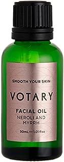 ネロリとミルラフェイシャルオイル30ミリリットル x4 - Votary Neroli and Myrrh Facial Oil 30ml (Pack of 4) [並行輸入品]
