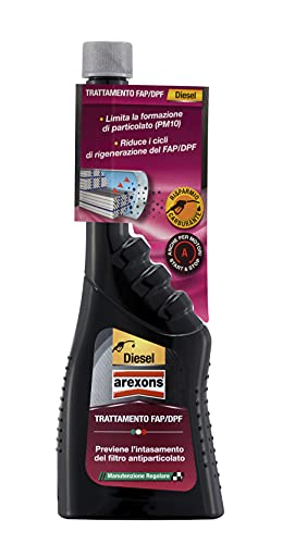Arexons Additivo Diesel Trattamento Filtro FAP/DPF, 250 ml,...