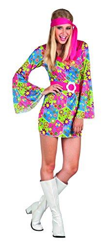 Boland- Hippie Figlia dei Fiori Sweet Meadow Costume Donna per Adulti, Multicolore, M, 83853