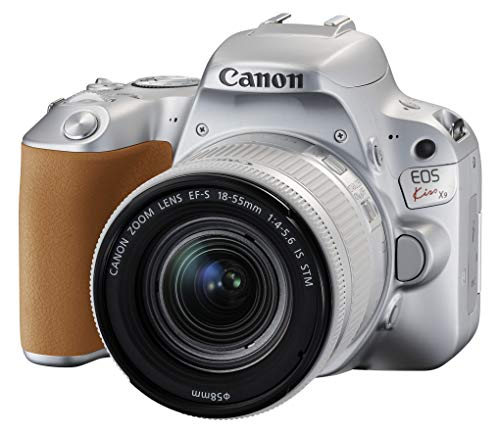 Canon デジタル一眼レフカメラ EOS Kiss X9 (W)EF-S18-55 IS STM レンズキット(シルバー/デジタル一眼レフカメラ)
