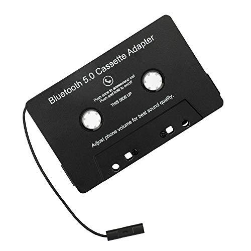 Hainice Accesorios Cinta Adaptador inalámbrico Bluetooth Car Audio Cassette Adaptador de Coche MP3 de Audio Digital convertidor analógico para Coches Negro Audio Digital convertidor