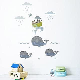 Koko Kids Owl and Pussycat Fabric Wall Decals