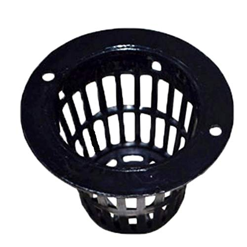 (SCGEHA) 水耕栽培 ポット 育苗 キット 鉢 スポンジ セット 黒 高さ35mm(30個)