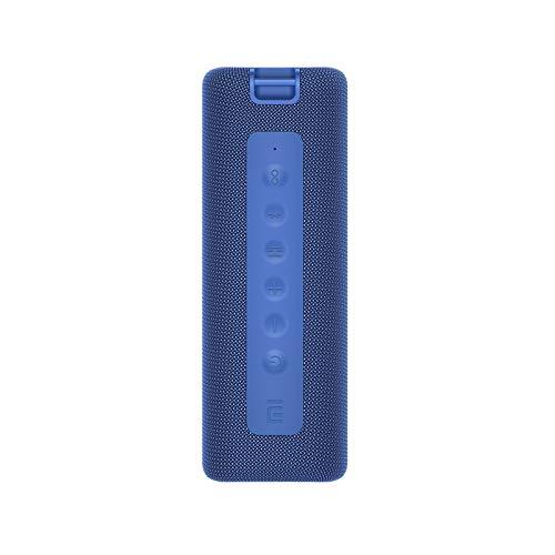 Xiaomi Altavoz Portátil Bluetooth 5.0 IPX7 Barra de Sonido Vertical Estéreo Inalámbrica a Prueba de Agua 13 Horas Tiempo de Reproducción 16W Sonido Micrófono Incorporado, Conexión TWS (Azul)