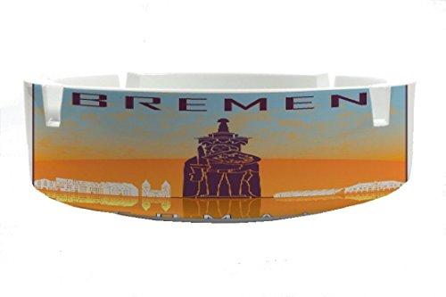 LEotiE SINCE 2004 Aschenbecher Rund Retro Metropole Bremen Ascher
