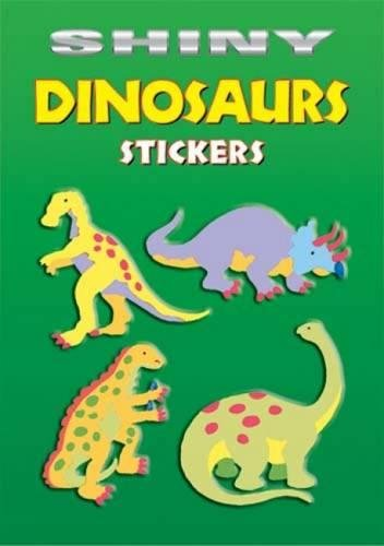 Download Shiny Dinosaurs Stickers (Dover Little Activity Books Stickers) 0486435369