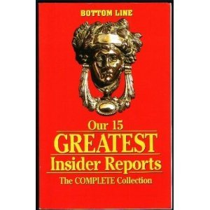 Unknown Binding Our 15 Greatest Insider Reports: The Complete Collection Book