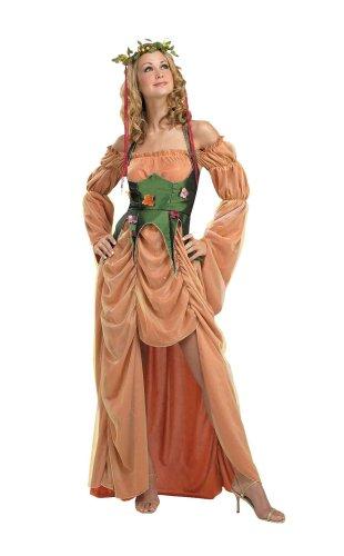 Disguise B274-002 - Diosa Madre Naturaleza del tamao de la Tierra 38 (informacin sobre el tamao de los envases: T2, 10/12 tamao, el tamao 38/40)