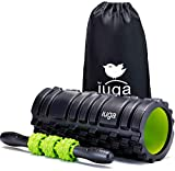 IUGA Foam Roller and Massage Stick 2 in 1 Set for Deep Tissue