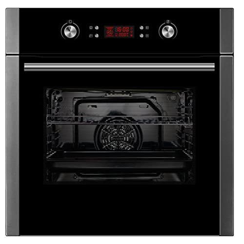 41XqooOFOtL. SS500  - Cookology COP609SS Pyrolytic Oven | Stainless Steel, 60cm, Self-Cleaning, Built-in, Single Oven