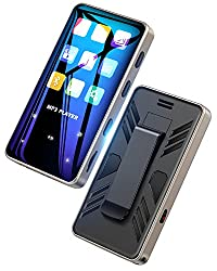 32GB Mp3 Player with Bluetooth 5.0 for Running - EVIDA Portable Music Player Touchscreen HiFi Sound (Armband Included)