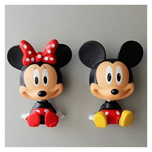JSJJAYH Imán para nevera con diseño de Mickey Mouse Minnie Daisy Donald Duck Decoración para el hogar, imán para nevera, recuerdo, imanes decorativos para uso diario (color: 3)