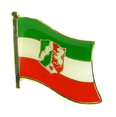 Flaggen Pin Nordrhein Westfalen Anstecknadel Fahne Flagge FLAGGENMAE®