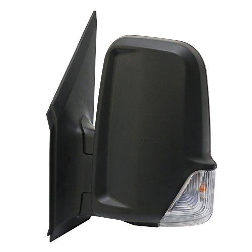 LONGLING Driver Left Side Mirror with Signal Light Fit Dodge Freightliner Mercedes Sprinter 2007-2014