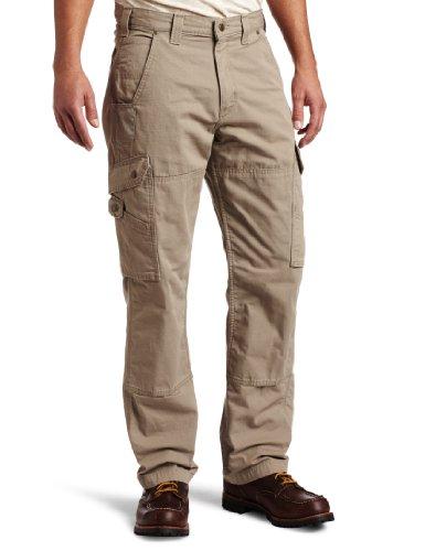 Carhartt Men's Men's Cotton Ripstop Pant, Desert, 38x32