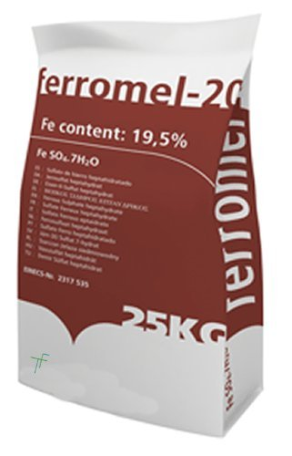 Ferromel 20 Iron Sulphate PREMIUM Lawn Conditioner, Lawn Feed & Moss Killer
