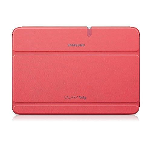 Samsung Original Diarytasche (Flipcover) im Buchdesign EFC-1G2NPECSTD (kompatibel mit Galaxy Note 10.1- Nicht mit 2014 Edition) in berry pink