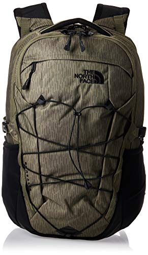 THE NORTH FACE Zaino Borealis Olive Green Rain Camo Print/Black