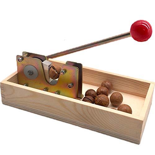 Timagebreze Manuelle Macadamia Nuss Ffner Nuss Knacker Maschine Walnuss Nussknacker Nuss SchhLer Werkzeug Macadamia Nuss Ffner