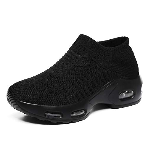 [Vocnako] 安全靴 デッキシューズ 婦人靴 お母さん 履きやすい カジュアル 超軽量 ウォキングシューズ 疲れにくい