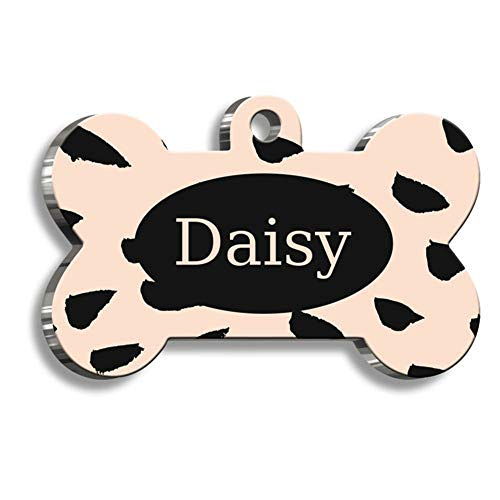 Pet Tag Art Knochen-Form Doppelseitige personalisierbar Hundemarke - Katzenmarke - 15