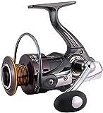 GJJSZ Carretes Carretes de Verano y Spinning Carrete Ligero de Pesca rápida en el mar Negro (Color:Negro,tamaño:3000)
