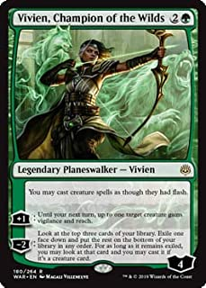 Magic: The Gathering - Vivien, Champion of The Wilds - War of The Spark
