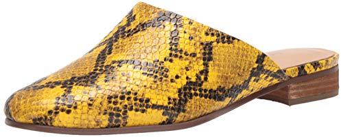 Clarks Damen Pure Blush Hausschuh, Gelbe Schlange, 39 EU