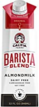 Califia Farms Original Almondmilk Barista Blend, 32 Oz (Pack of 6)