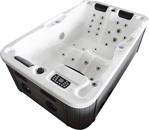 W-195SL 2-3 Pers. NEU Outdoor Indoor Whirlpool Hot Tub Whirlpools KING-SPA - 3