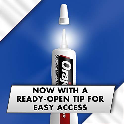 Orajel 3X Medicated For All Mouth Sores Gel .42 OZ