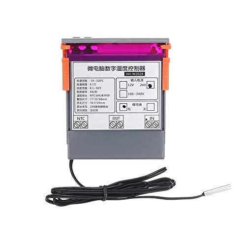 Digitaal DC12 / DC24V / AC220V Embedded digitale thermostaat Koelkast kabinet Industrial Special Digital temperatuurregelaar met 0,1 Nauwkeurigheid Accessory (Size : AC220V)