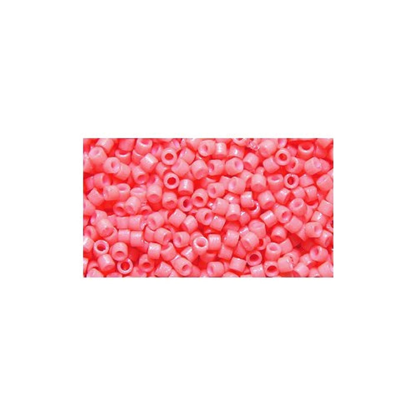 Miyuki Delica Seed Bead 11/0 DB2112, Duracoat Dark Salmon, 9-Gram/Pack