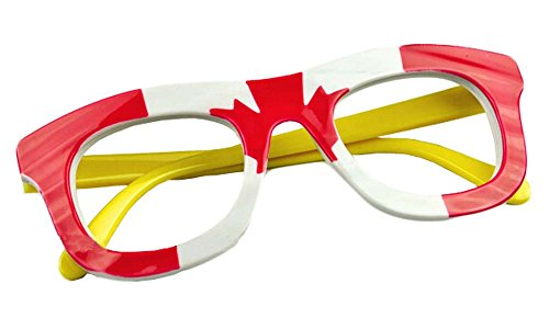 Nette Kinder Fashion Brille Brillengestell Kanada-Flagge