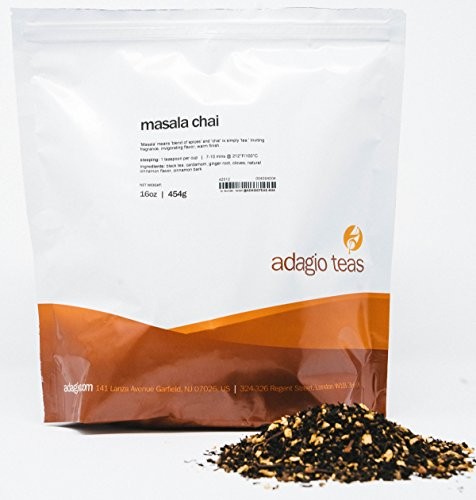 Adagio Teas Masala Chai Loose Black Tea, 16 oz.