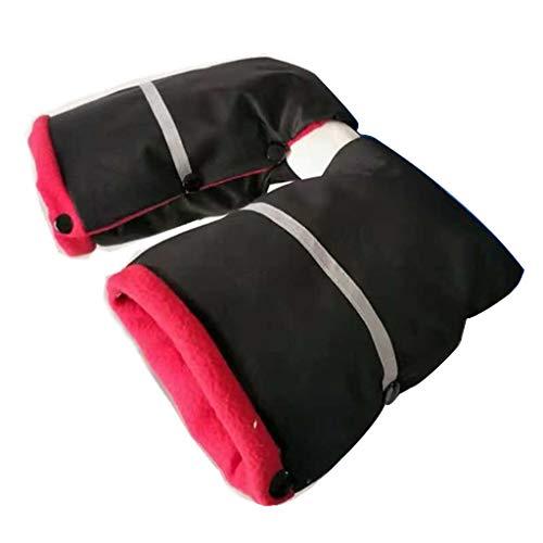 ZZALLLBorn Stroller Gloves Winter Warm Kids Baby Buggy Cochecito Manoplas de Mano Manoplas - Oscuro