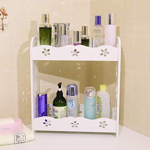 Toilet, badkamerrek, cosmetica, wasruimte, opbergdoos, wastafel, afmeting: groot Small