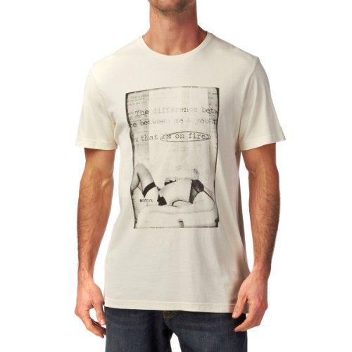 Rip Curl T-Shirt Keke Fantasy S/S Tee, Beige Small