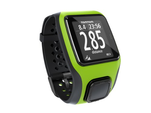 TomTom GPS Sportuhr Multisport , Bright Green, One size, 1RS0.001.04