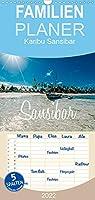 Karibu Sansibar - Familienplaner hoch (Wandkalender 2022 , 21 cm x 45 cm, hoch): Fotografische Eindruecke der Trauminsel Sansibar (Monatskalender, 14 Seiten )