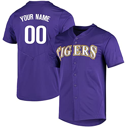 College Custom Jersey Baseball Top Fans Jersey Gift Custom Your Name Number Type 7